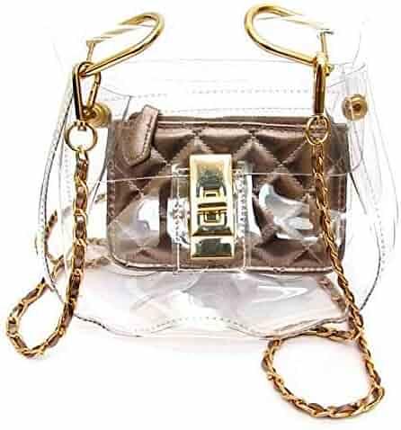 42a7ab31ae1e Shopping 4 Stars & Up - Clear - Handbags & Wallets - Women ...