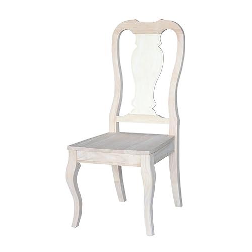 International Concepts C-910P Queen Anne Chair