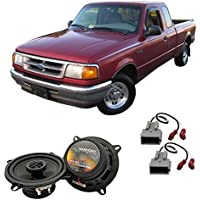Fits Ford Ranger 1989-1993 Front Door Factory Replacement Harmony HA-R5 Speakers New
