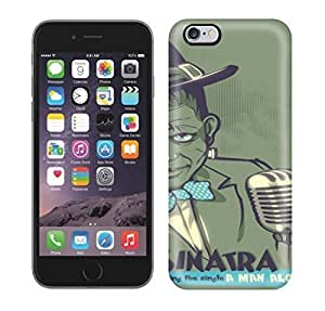 Best Power(Tm) HD Colorful Painted Watercolor Frankensinatra Hard Phone Case For Iphone 6 Plus
