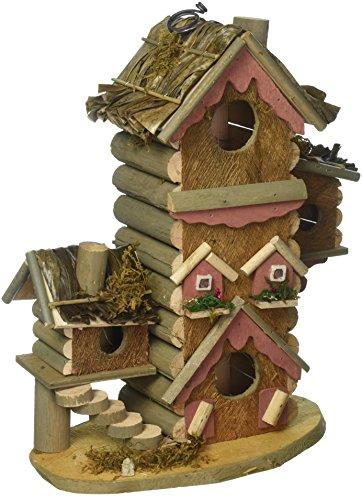 Hummingbird Birdhouses,Wooden Hangging Finch Sparrow Gingerbread-Style ()