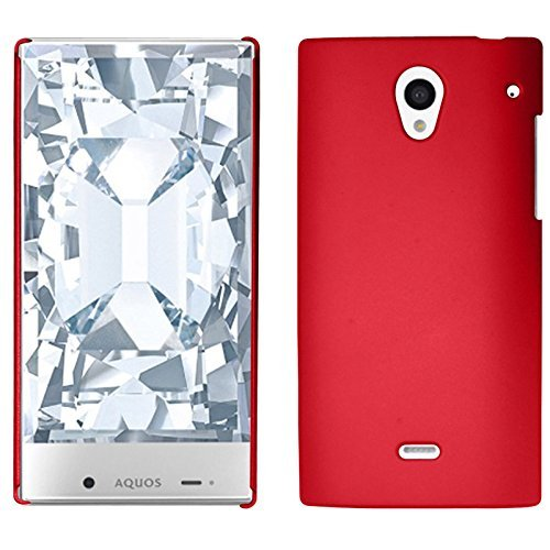 LF 3 in 1 Bundle - Hard Case Cover, Lf Stylus Pen & Droid Wiper Accessory for (Sprint) Sharp Aquos Crystal (Hard Red) (Sharp Aquos Crystal Keyboard compare prices)