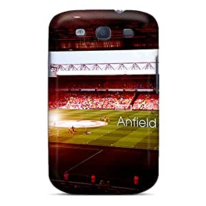 Awesome SSL966caSK Nathco Defender Tpu Hard Case Cover For Galaxy S3- Club Liverpool