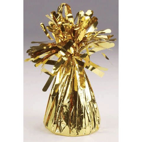 Gold Economy Foil Balloon Weight