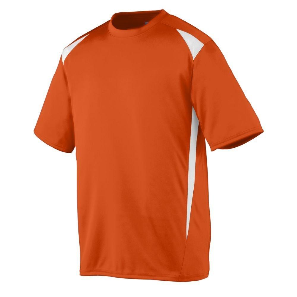 Augusta Sportswearメンズプレミアクルー B00E1YTH50 XXX-Large|オレンジ/ホワイト オレンジ/ホワイト XXX-Large