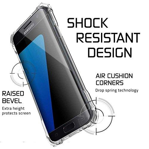 """Ghostek GHOCAS390 Schutzhülle """"Covert Series"""" für Samsung Galaxy S7 Edge klar"""
