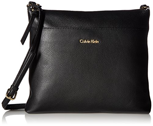 Calvin Klein Pebble Top Zip N/s Large Crossbody by Calvin Klein