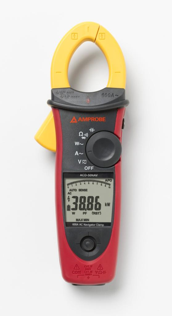 The Best Hvac Clamp Meter : Amprobe acd nav a ac power quality clamp meter