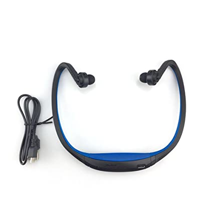 Sport Bluetooth Earphone plus SD Card Slot Auriculares Neckband Headphones Microphone Headset for Iphone