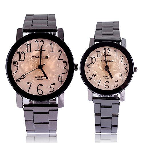 CGM Pares de la manera de los cuadros 14 reloj digital-Modelos femeninos peso 40g: Amazon.es: Relojes