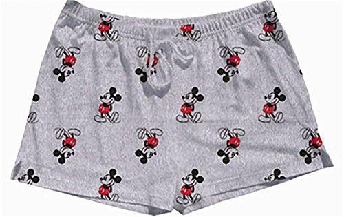 Disney Short Pjs Pajamas - Disney Mickey Mouse Kickback Pajama Shorts (Small)