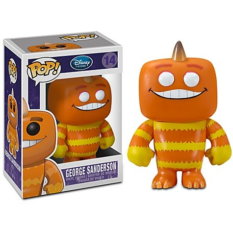Funko POP! Disney Monsters Inc. Vinyl Figure George Sanderson (Disney Funko Monsters Inc compare prices)