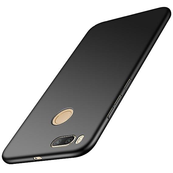 innovative design cb7f3 19406 Anccer Xiaomi Mi A1 Case [Colorful Series] [Ultra-Thin] [Anti-Drop] Premium  Material Slim Fit Cover for Xiaomi Mi 5X / Mi A1 (Smooth Black)