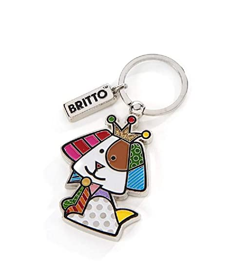 Amazon.com: Britto Royal - Llavero de perro: Shoes