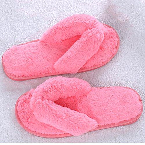 Donna Morbida Spa Infradito Pantofole Infradito Clog Infradito Casa Pantofole Rosa