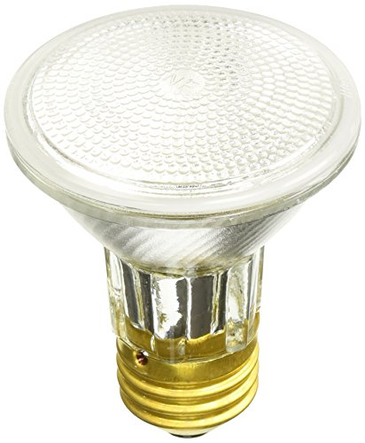 30 Degree 39w Single - Sylvania 14502 50 Watt PAR20 Narrow Flood Light Bulb 30 Degree Beam Spread 120 Volt 50PAR20,  2 Pack
