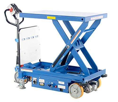 Vestil CART-1500-DC-CTD Steel Single Scissor Cart, Hydrau...