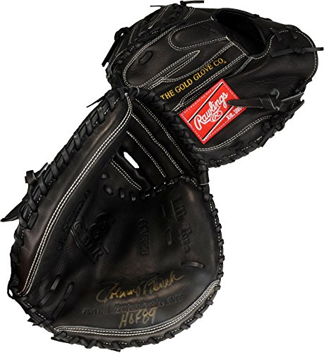 "Johnny Bench Cincinnati Reds Autographed Rawlings Catchers Mitt with""HOF 86"" Inscription - Fanatics Authentic..."