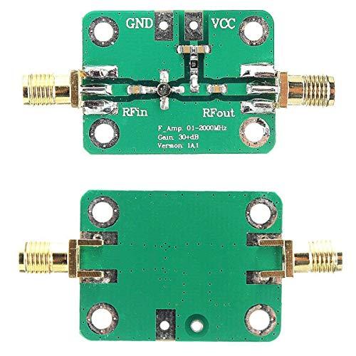 HiLetgo 0.1-2000MHz RF WideBand Amplifier 30dB High Gain Low Noise LNA ()