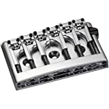 Schaller Flatmount Bridge 3D-6 with Adjustable Height Chrome