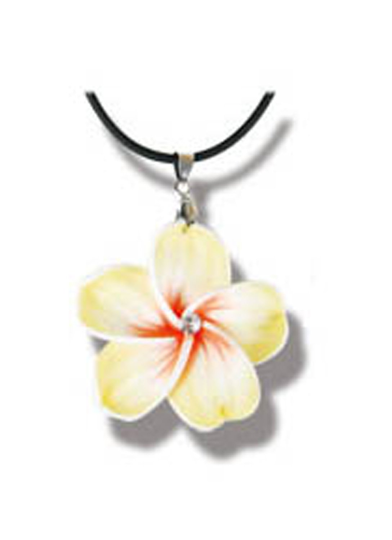 Amazon Yellow Hawaiian Flower Necklace Flower Petal Necklace