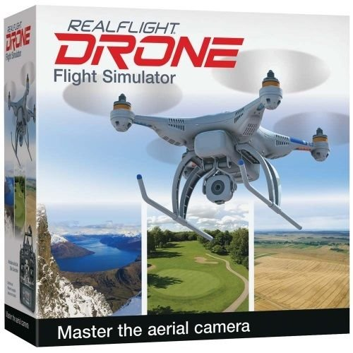 Great Planes GPMZ4800 RealFlight Drone QuadCopter Flight Simulator w Radio MD2 ,#G14E6GE4R-GE 4-TEW6W241654