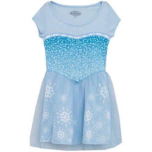 Disney Frozen I Am Elsa Girls Skater Dress (Small (8))