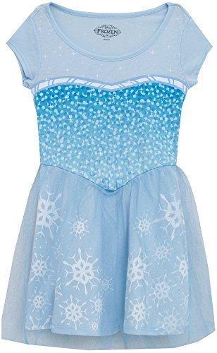 Disney Frozen I Am Elsa Girls Skater Dress (Small (Mighty Girl Costumes)