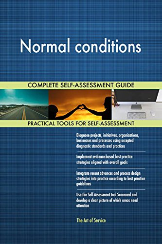 Normal conditions Toolkit: best-practice templates, step-by-step work plans and maturity diagnostics