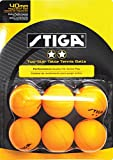 STIGA 2-Star Table Tennis Balls (6 Pack)