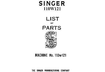 Amazon com: Download Pdf-File Singer 110W121 User Manual Sewing Machine