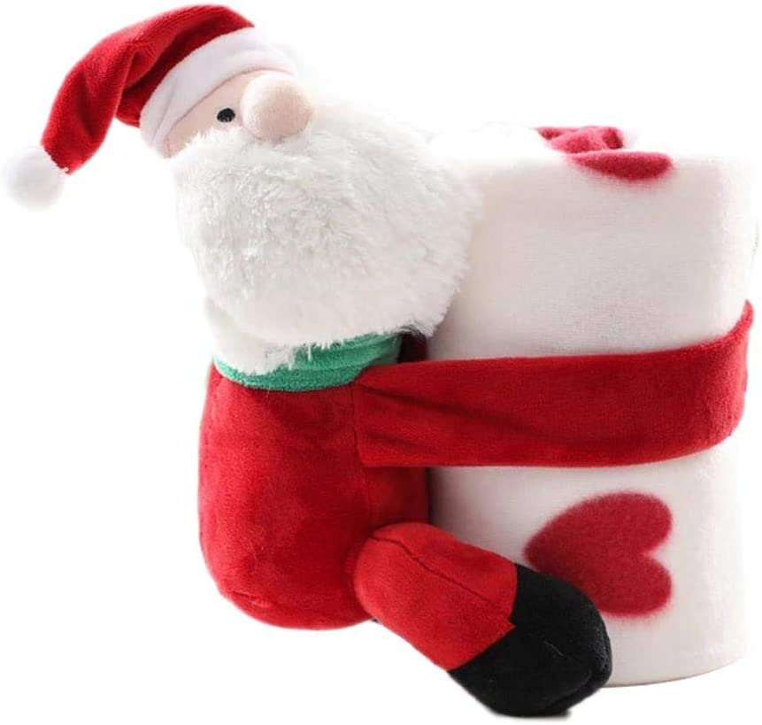 Weihnachten wirft miss-an Weihnachtsdecke Weihnachtsdekoration Zopfmusterdecke Decke F/ür Couch Travel Blanket