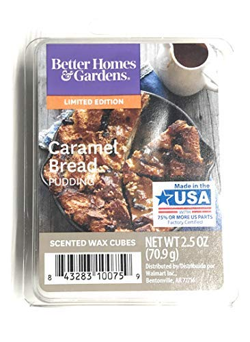 Better Homes & Gardens Caramel Bread Pudding 2018 Limited Edition Wax Cubes