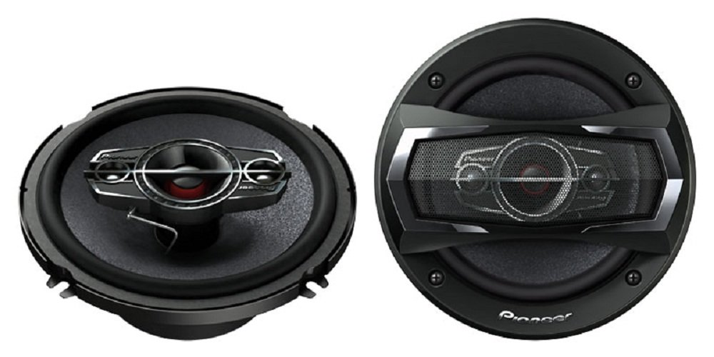 4 Way Pioneer Speakers
