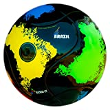 Bend-It Soccer Balls with VPM and VRC Technology, Size 5 - Brazil-It, Thermal Welded