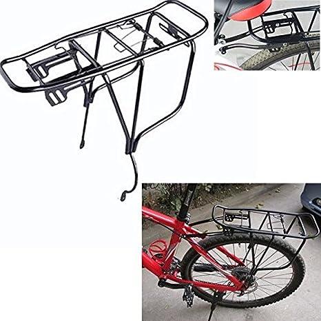 Bazaar Bicicleta de aluminio bici parrilla trasera de aleación ...
