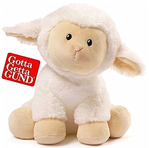 Gund Dilly Dally Lamb Stuffed Animal Plush - 12 inches - Gund White Teddy Bear