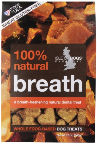 (Isle Of Dogs 100% Natural Breath Dog Treats, 12 Ounce)