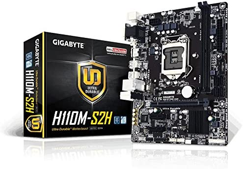 Gigabyte GA-H110M-S2H Ultra Durable Motherboards