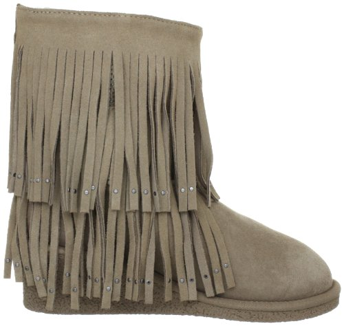 Koolaburra Womens Savannity Double Frange Boot Seta