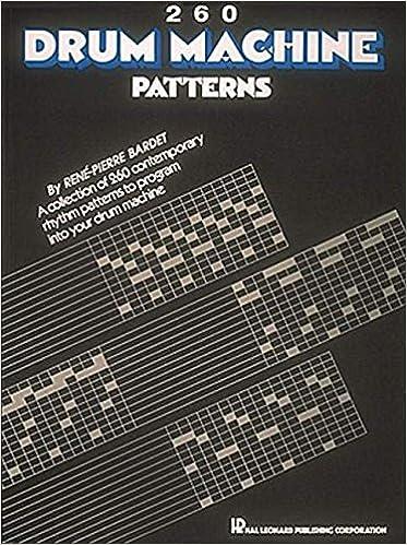 Book 260 Drum Machine Patterns
