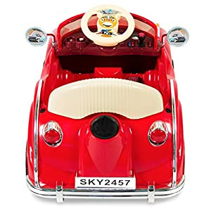 Best Choice Products Electric Battery Power Wheels RC Classic Car Ride On, Red