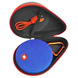 FitSand (TM) Portable Travel Carry Zipper Protective EVA Hard Case Cover Bag Box for JBL Clip 2 Waterproof Portable Bluetooth Speaker