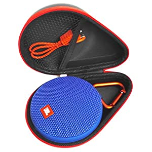 FitSand Hard Case for JBL Clip 2 JBL Clip 3 Waterproof Portable Bluetooth Speaker(ONLY CASE)