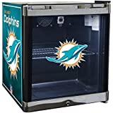 Glaros Officially Licensed NFL Beverage Center / Refrigerator - Miami Dolphins