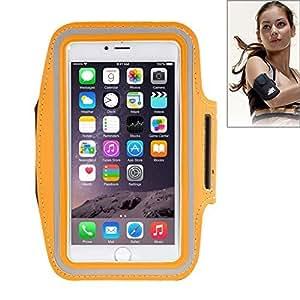 Funda Sport banda de brazo para Samsung Galaxy Note 2N7100Color Naranja ideal para la corsa la Gimnasio, la bicicleta.