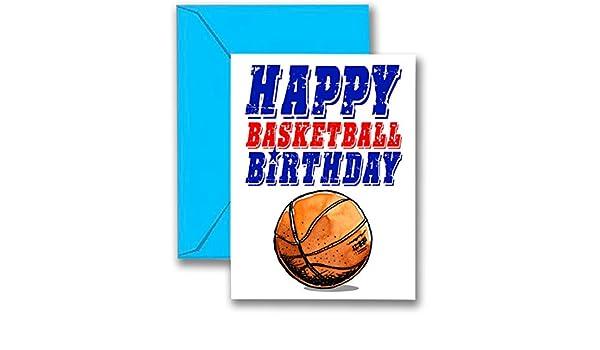 3 unidades de baloncesto Star tarjetas de cumpleaños 3-Pack ...