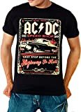ACDC Highway to Hell Speed Shop - AC/DC T-Shirt Large Black