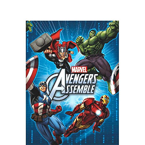 Marvel Avengers Plastic Table Cover, 54 x 96