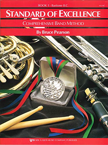 W21BC - Standard of Excellence Book 1 Book Only - Baritone B.C.